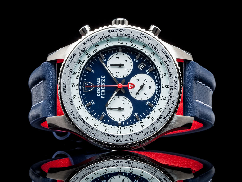 detomaso firenze racing xxl herrenuhr chronograph. Black Bedroom Furniture Sets. Home Design Ideas