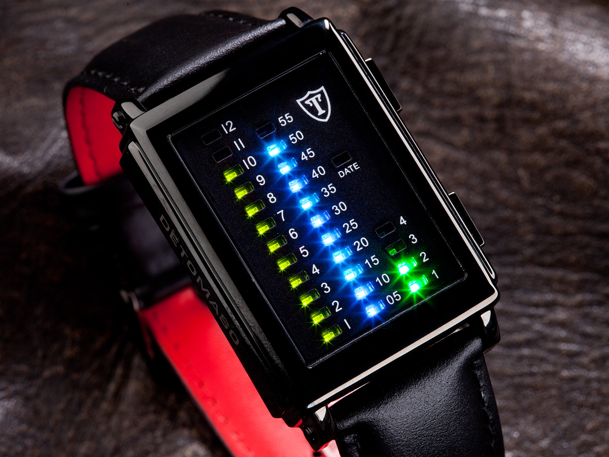 Read time binary watch